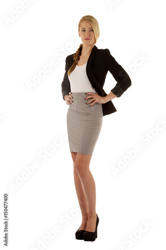 Businesswoman In A Serious Outfit Buy This Stock Photo And Explore Similar Images At Adobe Stock Adobe Stock