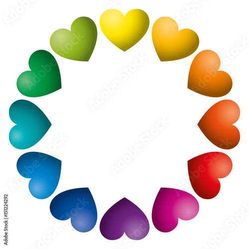 hearts colors # 69