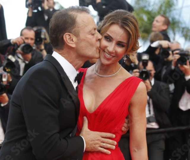 Rocco Siffredi And His Wife Arrive For The Screening Of The Film Money Monster