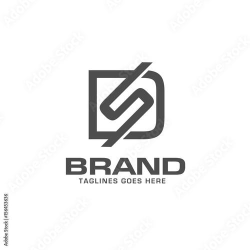 ds letter logo design