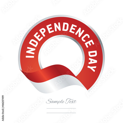 Independence Day Indonesia Flag Color Label Logo Icon Buy This Stock Vector And Explore Similar Vectors At Adobe Stock Adobe Stock