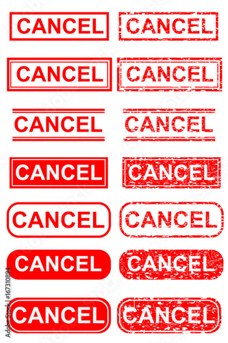 How To Cancel Adobe Stock : cancel, adobe, stock, Various, Rubber, Stamp, Effect, Cancel, Stock, Illustration, Explore, Similar, Illustrations, Adobe