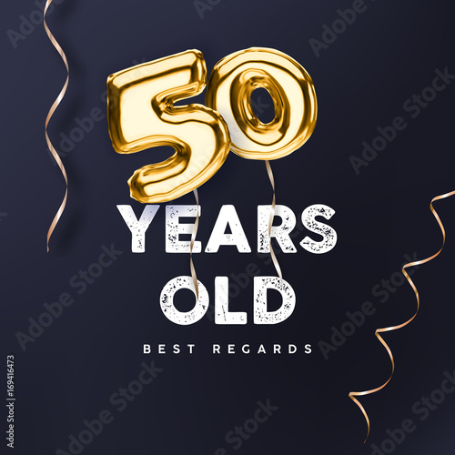 50 years old gold