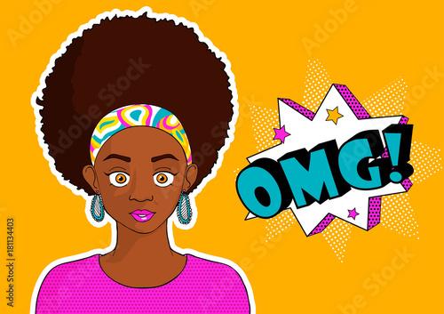 young pretty black girl