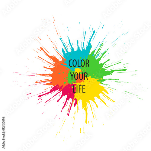 color your life vector