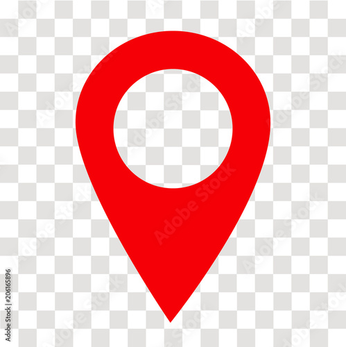 location pin icon on