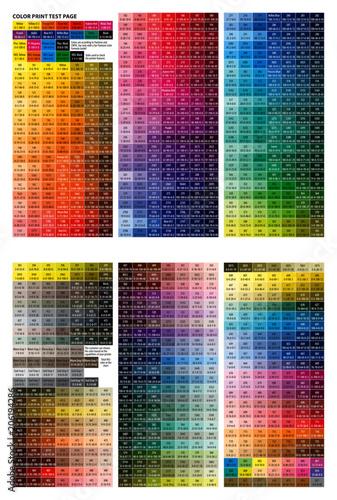 color print test page # 75