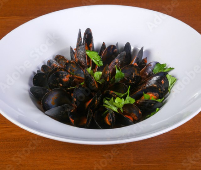 Tasty Black Mussels