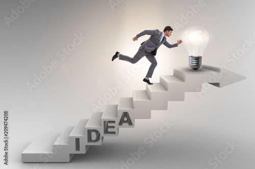 concept of idea with