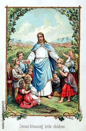 Jesus Blessing Little Children Buy This Stock Illustration And Explore Similar Illustrations At Adobe Stock Adobe Stock