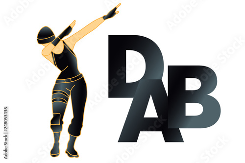dab dance t shirt