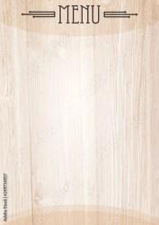 Wood Menu Background