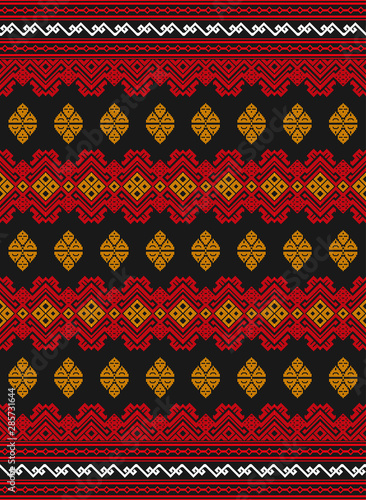 Batik Vector Cdr : batik, vector, Songket, Traditional, Batik, Pattern, Lombok, Indonesia:, Comprar, Vector, Stock, Explorar, Vectores, Similares, Adobe