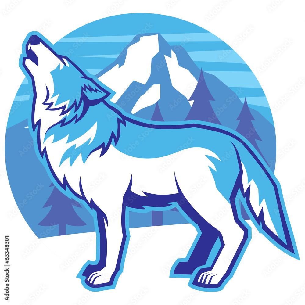 Heulender Wolf Bilder Zum Ausmalen