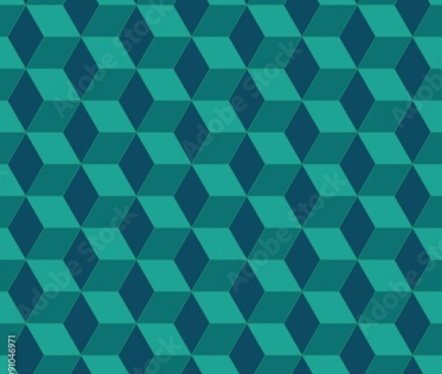 Vector Modern Seamless Colorful Geometry Pattern Color Blue Abstract Geometric Backgroundwallpaper Print