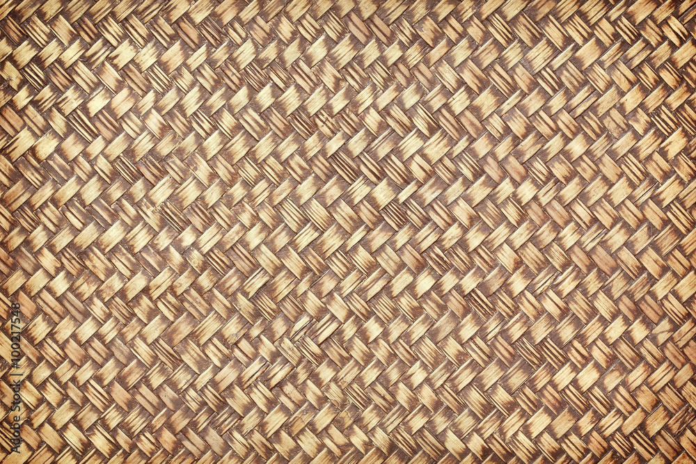 photo bamboo weave with