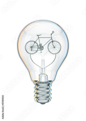 bicycle bulb concept 3d
