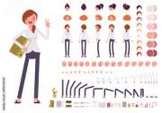 female clerk character creation