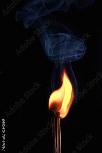 smoke and fire matches