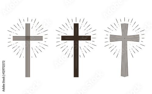 religion cross icon or