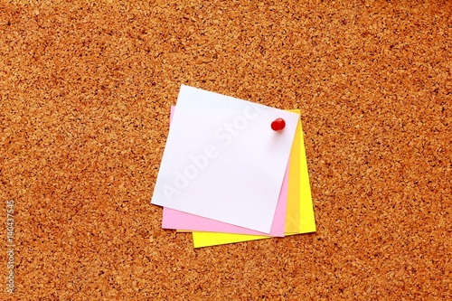 white sticky notes with