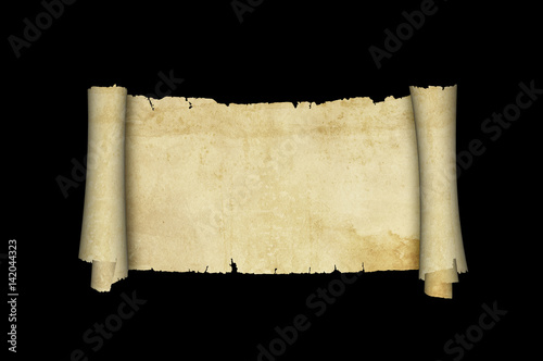 scrol of antique parchment