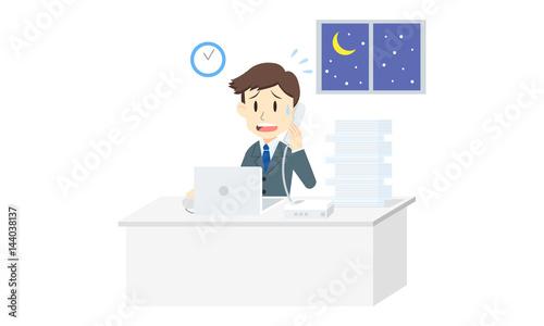 忙しいビジネスマン(サラリーマン)