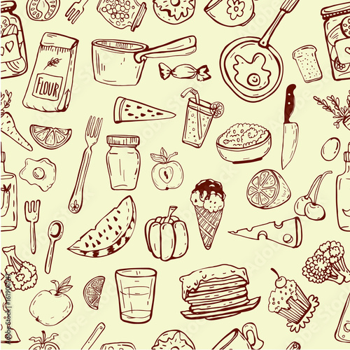 cooking utensil line icons