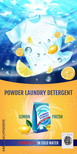 lemon fragrance laundry detergent
