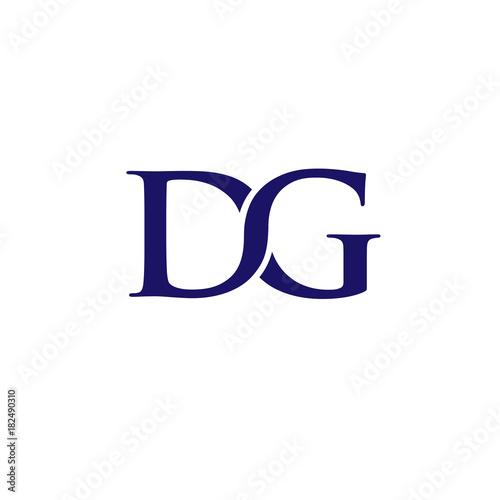 dg letter logo design