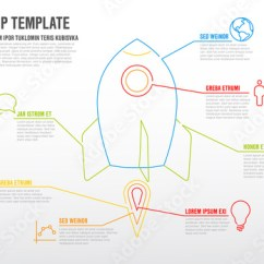 Rocket Ship Diagram Msd Ignition 6al 6420 Wiring Abstract Infographic Layout Buy This Stock Template