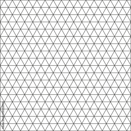 Seamless triangle pattern. Abstract geometric wallpaper of