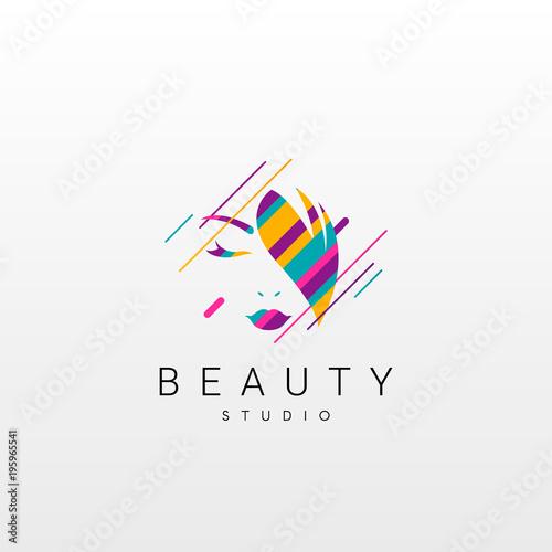 beauty logo abstract beauty