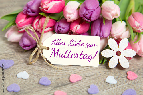 Alles Liebe Zum Muttertag Buy This Stock Photo And
