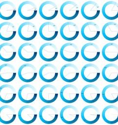 fotograf a set of 10 to 360 degree circle diagrams for infographics design elements europosters es [ 1000 x 1000 Pixel ]