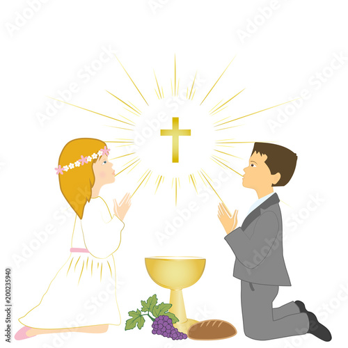 first holy communion ceremony