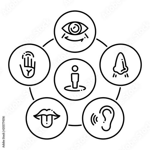 Set of black icons isolated on white background, on theme