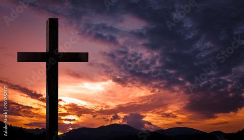 jesus christ cross wooden