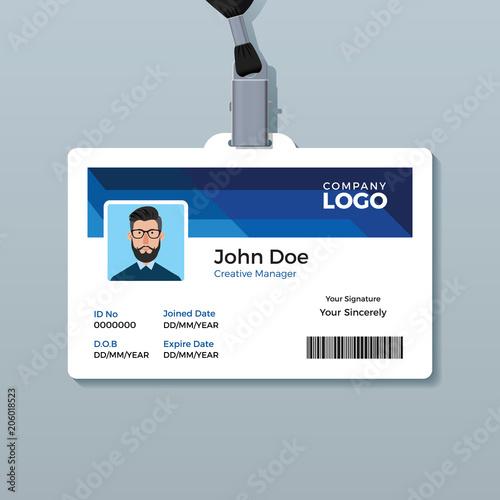 office id badge design