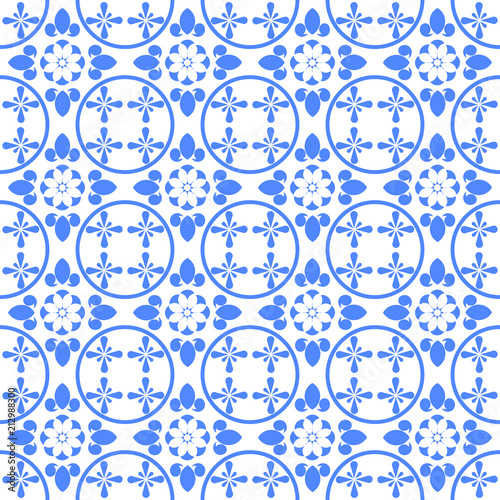 https stock adobe com images blue and white ceramic tile seamless pattern vintage style porcelain background repeat pattern design for ceiling texture wall paper and textile vector illustration 212988300 start checkout 1 content id 212988300