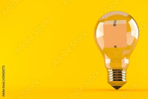 package inside light bulb