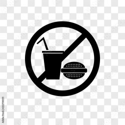 no food icons isolated on transparent background Modern and editable no food icon Simple icon vector illustration Buy this stock vector and explore similar vectors at Adobe Stock Adobe Stock