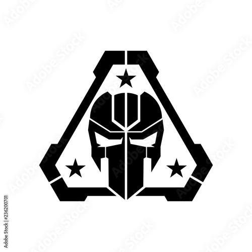 tactical mask skull logo