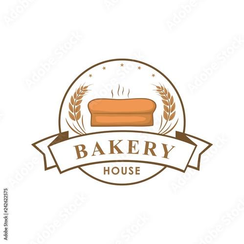 Bakery Shop Logo Sign Template Emblem Vector Design Buy This