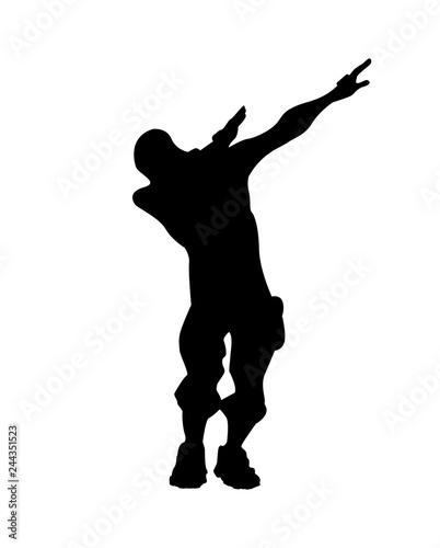 fortnite concept silhouette of