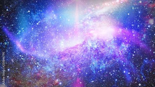 glowing nebula space background
