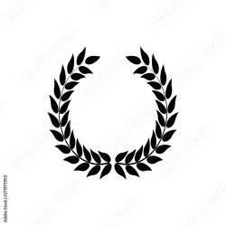 Leaf in circle frames Illustration vector Leaf border Wreath of leaves Buy this stock vector and explore similar vectors at Adobe Stock Adobe Stock