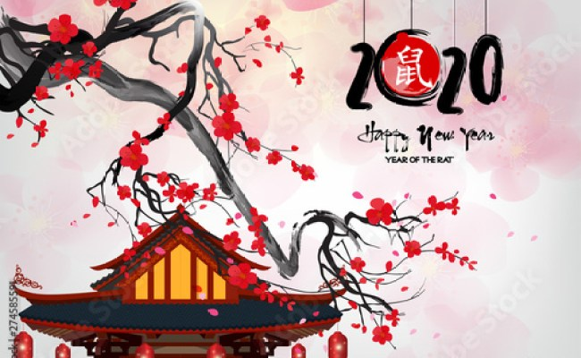 Happy Chinese New Year 2020 Year Of The Rat Chinese