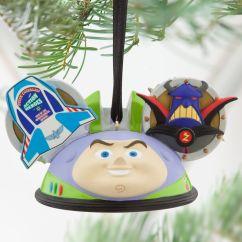 Minnie Mouse Bean Bag Chair Roll In Shower Buzz Lightyear Ear Hat Ornament