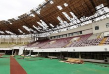 Essipong Stadium roof